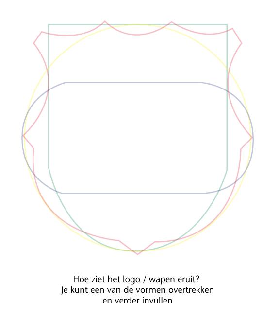 logo / wapen / embleem straat